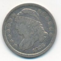 1836 CAPPED BUST SILVER DIME-  CIRCULATED DIME-SHIPS FREE INV:1