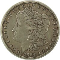 1884-P  $1 MORGAN SILVER DOLLAR  - VF / EXTRA FINE  CONDITION  091520
