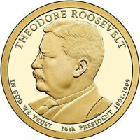 2013 P UNCIRCULATED THEODORE ROOSEVELT PRESIDENTIAL DOLLAR