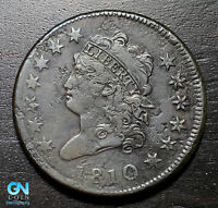 1810 CLASSIC HEAD LARGE CENT --  MAKE US AN OFFER  B5629