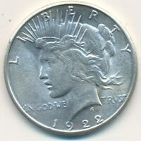 1922-S PEACE SILVER DOLLAR-BEAUTIFUL UNCIRCULATED PEACE DOLLAR-SHIPS FREE INV:3