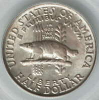 1936 50C PCGS OGH WISCONSIN COMMEMORATIVE MINT STATE 67 CAC SUPERB STRIKE FINER PLANCHET