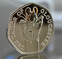UNC TAILOR OF GLOUCESTER UNCIRCULATED 50P 2018  FROM SEALED BAG FIFTY PENCE COIN