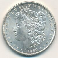 1889-S MORGAN SILVER DOLLAR-BEAUTIFUL UNCIRCULATED DOLLAR-SHIPS FREE INV:1