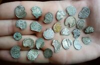 MEDIEVAL SILVER COINS LOT MIXED PERIODS 25 COINS