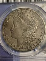 1892 CC CARSON CITY $1 MORGAN SILVER DOLLAR PCGS XF40 COIN