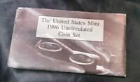 1996 ANNUAL UNITED STATES MINT UNCIRCULATED SET WITH W DIME