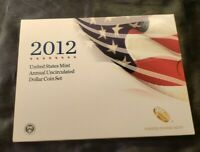 2012 W US MINT ANNUAL UNCIRCULATED DOLLAR COIN SET   BURNISH