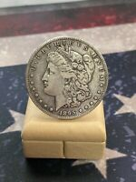 1895-S KEY DATE MORGAN SILVER DOLLAR LOW MINTAGE ONLY 400,000, 10/25/20