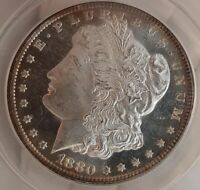1880 S MORGAN SILVER DOLLAR VAM-53CAMEO DMPLTHE BEST CAMEO IVE EVER SAW