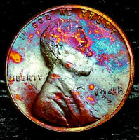 1948-S LINCOLN WHEAT CENT CENT-