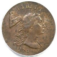 1794 S-19-B R-4 PCGS EXTRA FINE  40 HEAD OF 93 LIBERTY CAP LARGE CENT COIN 1C