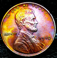 WOW 1910 LINCOLN WHEAT CENT CENT-