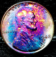 1948-D LINCOLN WHEAT CENT CENT-