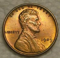 1909 VDB LINCOLN WHEAT CENT FROM PENNY COLLECTION HIGH GRADE