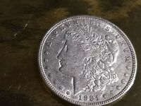 1921-D MORGAN DOLLAR BU UNCIRCULATED MINT STATE 90 SILVER IN COLLECTIBLE