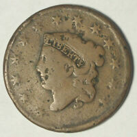 1833 LARGE CENT-CIRCULATED CONDITION
