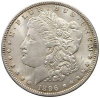 UNITED STATES DOLLAR  1896 TOP   T45 099
