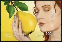 SWITZERLAND FRUITS STAMPS 2017 MNH QUINCE SCENT FRUIT SCENTED 1V M/S