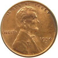UNITED STATES CENT 1954 D S63 595 YY