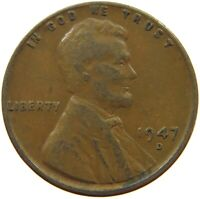 UNITED STATES CENT 1947 D S63 607 YY