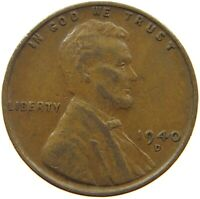 UNITED STATES CENT 1940 D S63 765 YY