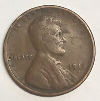 1918 D DENVER LINCOLN 1 CENT WHEAT CENT UNCERTIFIED CIRCULATED COIN COLLECTABLE