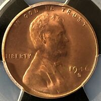 1946-S 1C RD  LINCOLN WHEAT ONE CENT  PCGS MINT STATE 66RD    39000656