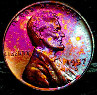 1957-D LINCOLN WHEAT CENT CENT-