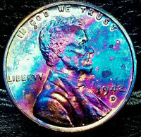 1942 D LINCOLN WHEAT CENT CENT-
