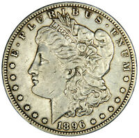1896-O MORGAN DOLLAR - ALMOST UNCIRCULATED - PRICED RIGHT