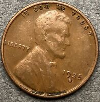 1935 S LINCOLN WHEAT CENT PENNY - BETTER GRADE  FREE SHIP. H23