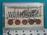 WORLD WAR I LINCOLN WHEAT CENT COLLECTION SET 1914-1918 1055