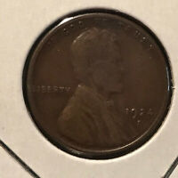 1924 - S  LINCOLN WHEAT-BACK CENT   SAN FRANCISCO