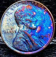 1947 D LINCOLN WHEAT CENT CENT-