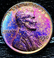 1950 D LINCOLN WHEAT CENT CENT-