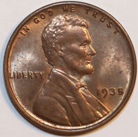 1935-P LINCOLN CENT . UNCIRCULATED        0060