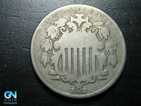 1868 SHIELD NICKEL  --  MAKE US AN OFFER  B9739
