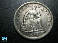 1850 P SEATED LIBERTY HALF DIME --  MAKE US AN OFFER  B9793