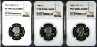 1979   1981 S TYPE 1 PROOF SUSAN B. ANTHONY DOLLAR NGC PF 69