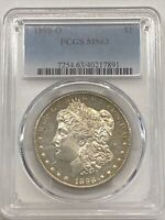 1898-O $1 MORGAN SILVER DOLLAR PCGS MINT STATE 63