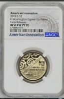 2018 S REVERSE PROOF AMERICAN INNOVATION $1 NGC PF70  EARLY