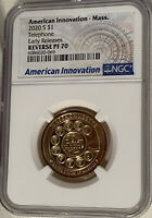 2020 S AMERICAN INNOVATION $1 TELEPHONE E.R. REVERSE PROOF 7