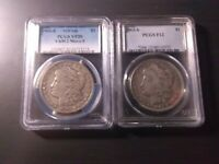 1903-S VAM-2 MICRO S & 1903-S MORGAN DOLLARS >LOT OF 2< SUPER FAST SHIPPING