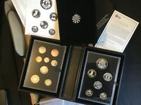 2014 ROYAL MINT 14 COIN UK PROOF COIN SET COLLECTOR EDITION.