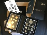 2016 PROOF 16 COIN COLLECTOR EDITION SET BOX COA MINT. INNER