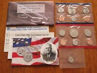 1996 US UNCIRCULATED PD MINT SET WITH