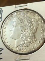 1879 S MORGAN DOLLAR REVERSE OF 1878 AU/BU PROOFLIKE