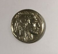1937 P BUFFALO NICKEL ABOUT UNCIRCULATED UNC