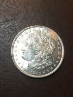 1921 MORGAN SILVER DOLLAR- SEE MY LISTINGS FOR SILVER DOLLARS & HALVES FOR GIFTS